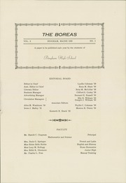 Page 5, 1929 Edition, Upper Kennebec Valley High School - Boreas Yearbook (Bingham, ME) online yearbook collection