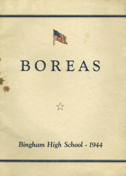 Page 1, 1944 Edition, Upper Kennebec Valley High School - Boreas Yearbook (Bingham, ME) online yearbook collection