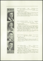 Page 10, 1939 Edition, Harmony High School - The Ferguson Yearbook (Harmony, ME) online yearbook collection