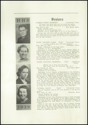 Page 8, 1939 Edition, Harmony High School - The Ferguson Yearbook (Harmony, ME) online yearbook collection