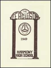 Page 5, 1949 Edition, Harmony High School - The Ferguson Yearbook (Harmony, ME) online yearbook collection