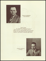 Page 6, 1949 Edition, Harmony High School - The Ferguson Yearbook (Harmony, ME) online yearbook collection