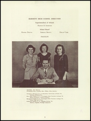 Page 7, 1949 Edition, Harmony High School - The Ferguson Yearbook (Harmony, ME) online yearbook collection