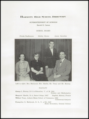 Page 7, 1952 Edition, Harmony High School - The Ferguson Yearbook (Harmony, ME) online yearbook collection
