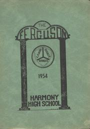 1954 Edition, Harmony High School - The Ferguson Yearbook (Harmony, ME)