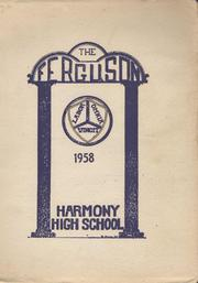 Page 1, 1958 Edition, Harmony High School - The Ferguson Yearbook (Harmony, ME) online yearbook collection