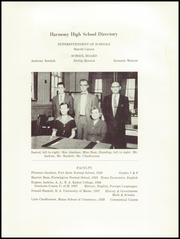 Page 7, 1958 Edition, Harmony High School - The Ferguson Yearbook (Harmony, ME) online yearbook collection