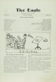 Page 7, 1931 Edition, Wilton Academy - Eagle Yearbook (Wilton, ME) online yearbook collection