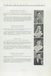 Page 13, 1935 Edition, Wilton Academy - Eagle Yearbook (Wilton, ME) online yearbook collection
