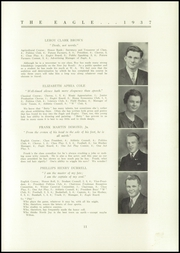 Page 13, 1937 Edition, Wilton Academy - Eagle Yearbook (Wilton, ME) online yearbook collection
