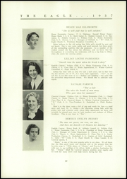 Page 14, 1937 Edition, Wilton Academy - Eagle Yearbook (Wilton, ME) online yearbook collection