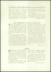 Page 8, 1937 Edition, Wilton Academy - Eagle Yearbook (Wilton, ME) online yearbook collection