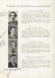 Page 10, 1938 Edition, Wilton Academy - Eagle Yearbook (Wilton, ME) online yearbook collection