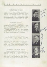Page 11, 1938 Edition, Wilton Academy - Eagle Yearbook (Wilton, ME) online yearbook collection