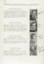 Page 15, 1938 Edition, Wilton Academy - Eagle Yearbook (Wilton, ME) online yearbook collection