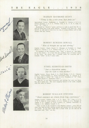 Page 16, 1938 Edition, Wilton Academy - Eagle Yearbook (Wilton, ME) online yearbook collection