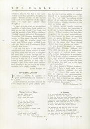 Page 8, 1938 Edition, Wilton Academy - Eagle Yearbook (Wilton, ME) online yearbook collection