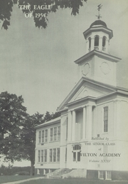Page 5, 1954 Edition, Wilton Academy - Eagle Yearbook (Wilton, ME) online yearbook collection