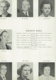 Page 8, 1954 Edition, Wilton Academy - Eagle Yearbook (Wilton, ME) online yearbook collection