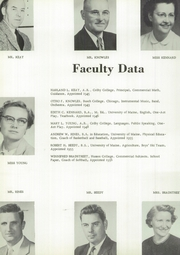 Page 10, 1957 Edition, Wilton Academy - Eagle Yearbook (Wilton, ME) online yearbook collection