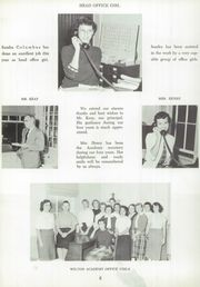 Page 10, 1959 Edition, Wilton Academy - Eagle Yearbook (Wilton, ME) online yearbook collection