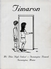 Page 5, 1969 Edition, Mount Blue High School - Timaron Yearbook (Farmington, ME) online yearbook collection