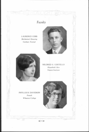 Page 12, 1929 Edition, South Portland High School - Headlight Yearbook (South Portland, ME) online yearbook collection