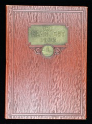 1933 Edition, South Portland High School - Headlight Yearbook (South Portland, ME)