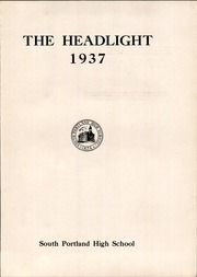 Page 7, 1937 Edition, South Portland High School - Headlight Yearbook (South Portland, ME) online yearbook collection