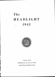 Page 3, 1943 Edition, South Portland High School - Headlight Yearbook (South Portland, ME) online yearbook collection