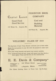 Page 7, 1919 Edition, Cony High School - Coniad Yearbook (Augusta, ME) online yearbook collection