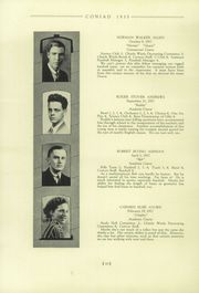 Page 14, 1935 Edition, Cony High School - Coniad Yearbook (Augusta, ME) online yearbook collection