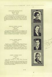 Page 15, 1935 Edition, Cony High School - Coniad Yearbook (Augusta, ME) online yearbook collection