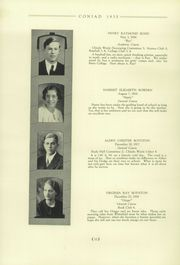 Page 16, 1935 Edition, Cony High School - Coniad Yearbook (Augusta, ME) online yearbook collection