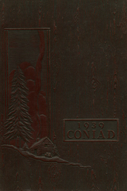 1939 Edition, Cony High School - Coniad Yearbook (Augusta, ME)