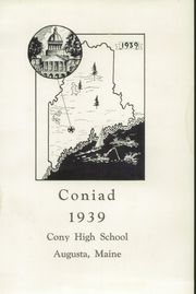 Page 5, 1939 Edition, Cony High School - Coniad Yearbook (Augusta, ME) online yearbook collection