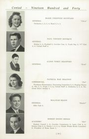 Page 14, 1940 Edition, Cony High School - Coniad Yearbook (Augusta, ME) online yearbook collection