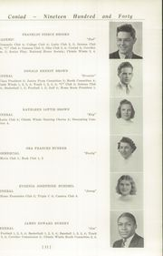 Page 15, 1940 Edition, Cony High School - Coniad Yearbook (Augusta, ME) online yearbook collection