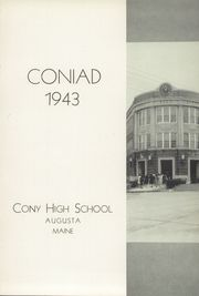 Page 7, 1943 Edition, Cony High School - Coniad Yearbook (Augusta, ME) online yearbook collection