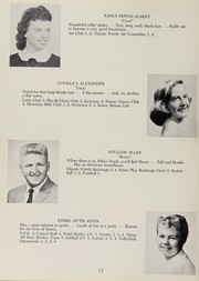 Page 16, 1959 Edition, Cony High School - Coniad Yearbook (Augusta, ME) online yearbook collection