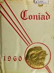 1960 Edition, Cony High School - Coniad Yearbook (Augusta, ME)