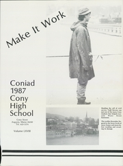Page 5, 1987 Edition, Cony High School - Coniad Yearbook (Augusta, ME) online yearbook collection