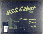 Page 1, 1952 Edition, Cabot (CVL 52) - Naval Cruise Book online yearbook collection