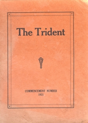 Page 1, 1921 Edition, Brewer High School - Trident Yearbook (Brewer, ME) online yearbook collection