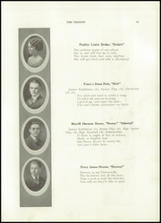 Page 17, 1921 Edition, Brewer High School - Trident Yearbook (Brewer, ME) online yearbook collection