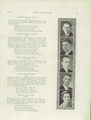 Page 17, 1937 Edition, Brewer High School - Trident Yearbook (Brewer, ME) online yearbook collection