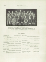 Page 7, 1937 Edition, Brewer High School - Trident Yearbook (Brewer, ME) online yearbook collection