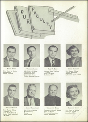 Page 11, 1957 Edition, Brewer High School - Trident Yearbook (Brewer, ME) online yearbook collection