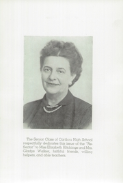 Page 7, 1948 Edition, Caribou High School - Reflector Yearbook (Caribou, ME) online yearbook collection