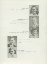 Page 11, 1949 Edition, Presque Isle High School - Ship Yearbook (Presque Isle, ME) online yearbook collection